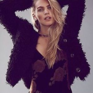 Free People Sweet Disposition shaggy jacket sz S